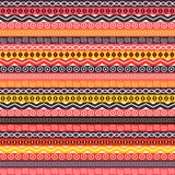 Abstract Ethnic Seamless Background Stock Photo
