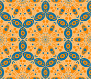 Abstract ethnic  seamless background. Royalty Free Stock Image