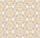 Abstract Ethnic Seamless Background. Floral line texture. Royalty Free Stock Images