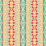Abstract ethnic seamless fabric pattern Royalty Free Stock Photo