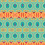 Abstract ethnic seamless fabric pattern Stock Photo