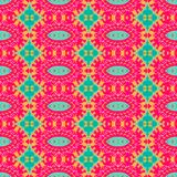 Abstract ethnic seamless fabric pattern Royalty Free Stock Photography