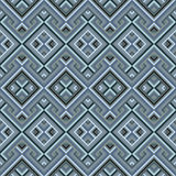 Abstract Ethnic Seamless Geometric Pattern Stock Photography