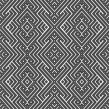 Abstract Ethnic Seamless Geometric Pattern Royalty Free Stock Photos