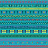 Abstract Ethnic Seamless Geometric Pattern. Royalty Free Stock Image