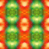 Abstract Ethnic Seamless Geometric Pattern. Stock Image