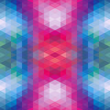 Abstract Ethnic Seamless Geometric Pattern Vector Illustration Stock Photography