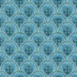 Abstract ethnic seamless pattern,  pattern on a blue background. Abstract ethnic seamless pattern, colorful pattern on a blue background Royalty Free Stock Photography