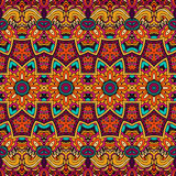 Abstract  ethnic seamless pattern ornamental. Abstract geometric festive  ethnic seamless pattern ornamental Stock Photography