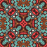 Abstract ethnic seamless pattern ornamental. Royalty Free Stock Photo