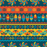 Abstract  ethnic seamless pattern. Use for wallpaper, patt Stock Photography