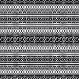 Abstract ethnic seamless pattern, vector illustration, old monochrome ornamental background. Ornate vertical tracery in black and. White colors for fabric vector illustration