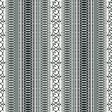 Abstract ethnic seamless pattern, vector illustration, old ornamental background. Ornate vertical tracery in gray, black and white. Colors for fabric design vector illustration