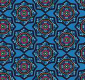 Abstract ethnic seamless pattern. Abstract vector tribal ethnic background seamless pattern Stock Photo