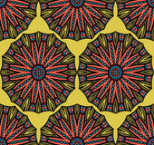 Abstract ethnic seamless pattern Royalty Free Stock Images