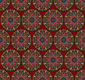 Abstract ethnic seamless pattern. Abstract vector tribal ethnic background seamless pattern Royalty Free Stock Photo