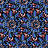 Abstract ethnic seamless pattern Stock Image