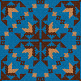 Abstract ethnic textile pattern Stock Photos