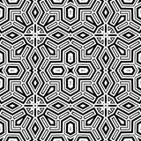 Abstract ethnic vector seamless background Royalty Free Stock Image