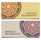 Abstract ethnic vintage background Stock Images