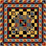 Abstract etnisch behang Stock Foto