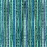 Abstract etnisch gestreept naadloos patroon Stock Foto's