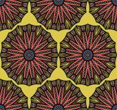 Abstract etnisch naadloos patroon Royalty-vrije Stock Afbeeldingen