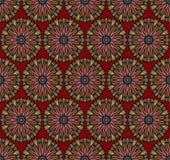 Abstract etnisch naadloos patroon Royalty-vrije Stock Foto