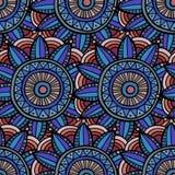 Abstract etnisch naadloos patroon Stock Afbeelding