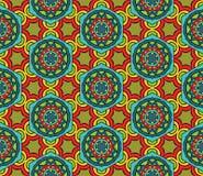 Abstract etnisch patroon royalty-vrije illustratie