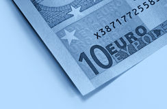 Abstract euro money background Royalty Free Stock Image