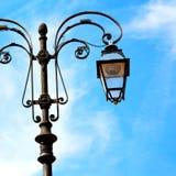abstract Europa de hemel van de lantaarn en de verlichting van Italië Stock Afbeelding