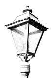 abstract Europa in de hemel van de lantaarn en de verlichting van Italië Stock Afbeelding