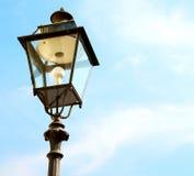 abstract Europa in de hemel van de lantaarn en de verlichting van Italië Stock Foto