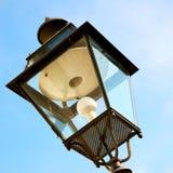 abstract Europa in de hemel van de lantaarn en de verlichting van Italië Stock Afbeeldingen