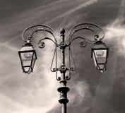 abstract Europa in van de lantaarn en de verlichting van Italië Royalty-vrije Stock Afbeelding