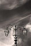 abstract Europa in van de lantaarn en de verlichting van Italië Royalty-vrije Stock Afbeeldingen