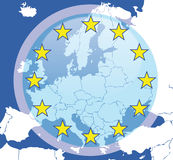 Abstract europe background Royalty Free Stock Images
