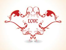 Abstract   Excellent with love backgrounds Royalty Free Stock Image