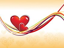 Abstract   Excellent love backgrounds Royalty Free Stock Photos
