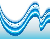 Abstract   Excellent wave background Stock Photo