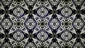 Abstract exclusief zwart geel en blauw lijnbehang Stock Afbeelding