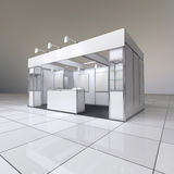 Abstract exhibition stand Stock Image