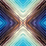 Abstract exotic blue pattern Stock Images