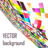 Abstract explore square mosaic vector background Stock Image