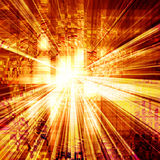 Abstract explosion Royalty Free Stock Photography