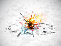 Abstract explosion background Royalty Free Stock Image