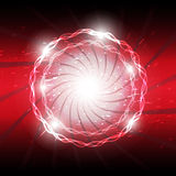 Abstract explosion background Stock Photo