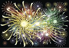 Abstract explosion background (fireworks). Color texture as abstract explosion background (fireworks Royalty Free Stock Image