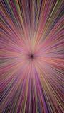 Abstract explosion burst of fireworks light Stock Photo